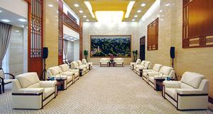 河南大厦会议室装饰工程