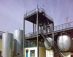 北京焦化厂储油罐内、外防腐工程
