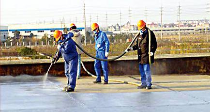 奔驰保利车间屋顶防腐工程